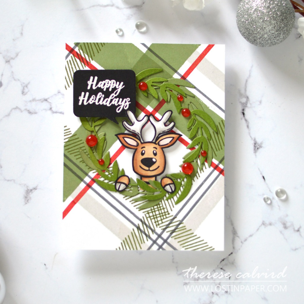 Lostinpaper - Same But Different Christmas Card Series 2020 - Plaid Tartan (card video) 1