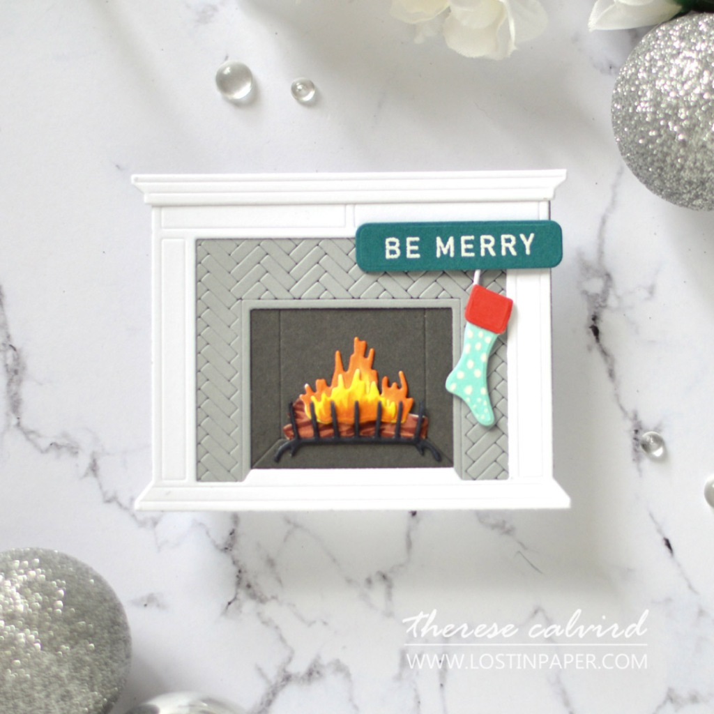 Lostinpaper - Same But Different Christmas Cards 2020 - Shaped Cards 1